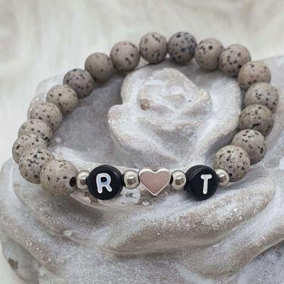Armband Polarisperlen personalisiert