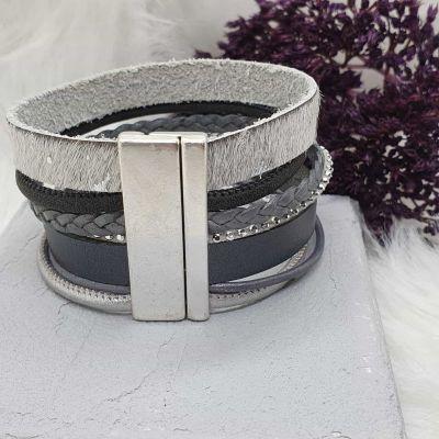 Armband Leder breit