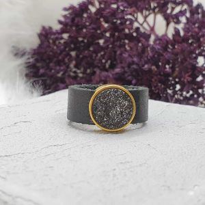Ring Leder gold