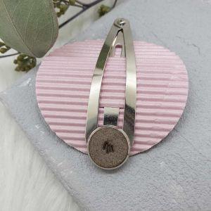 Haarspange Leder [personalisiert]