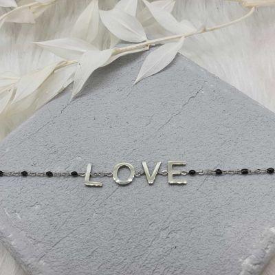 Armband LOVE [Edelstahl]