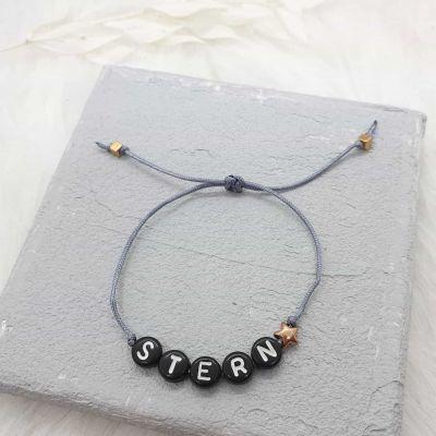 Armband Macramé [Buchstaben]