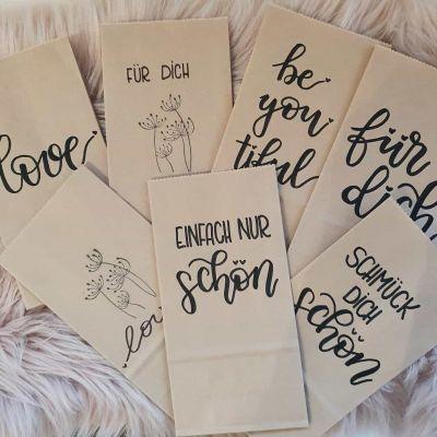 Geschenktüte Kraftpapier