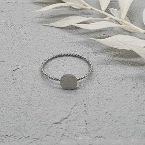 Ring Twist silber [Edelstahl]